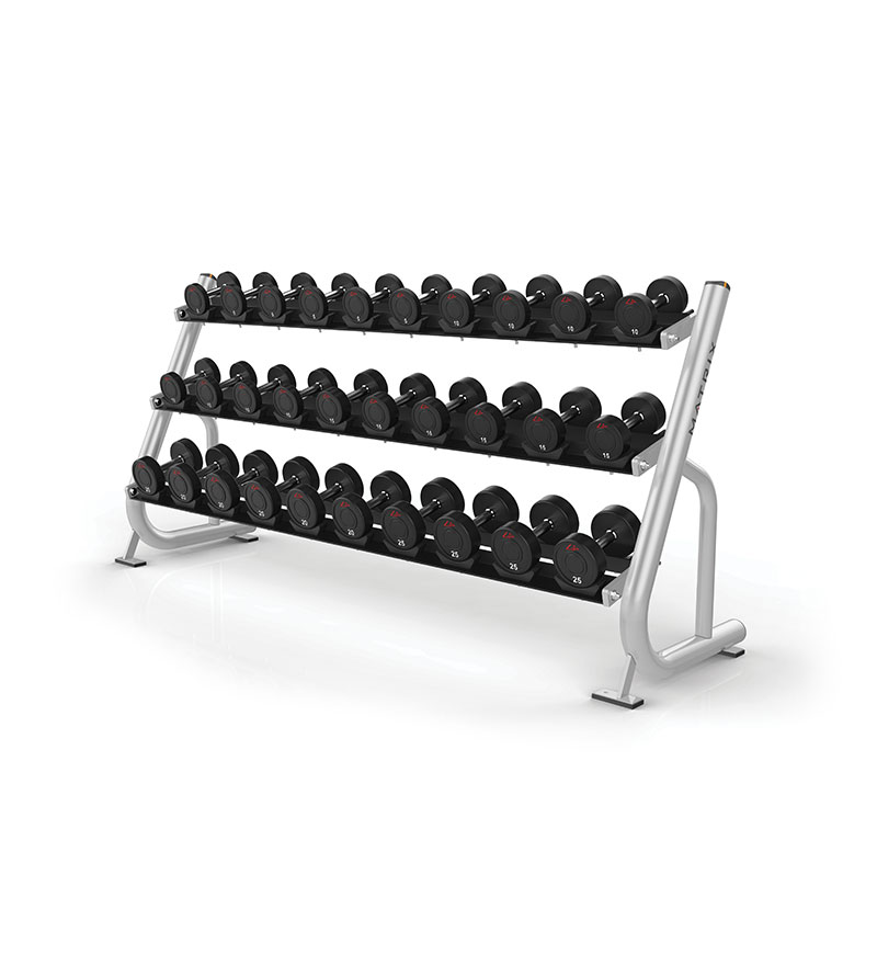 3 Tier Dumbbell Rack w/ saddles