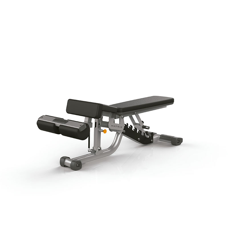 Multi-Adjustable Bench w/ Decline