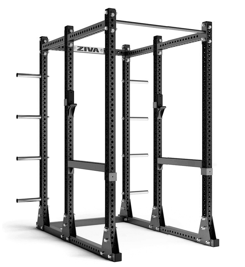 Power Rack W/ Storage